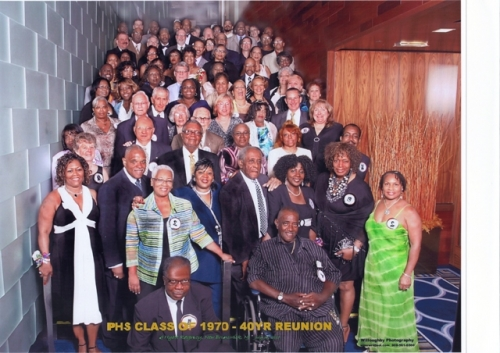 Official original PHS Class of 1970 40th anniversary Reunion Banquet Photo.